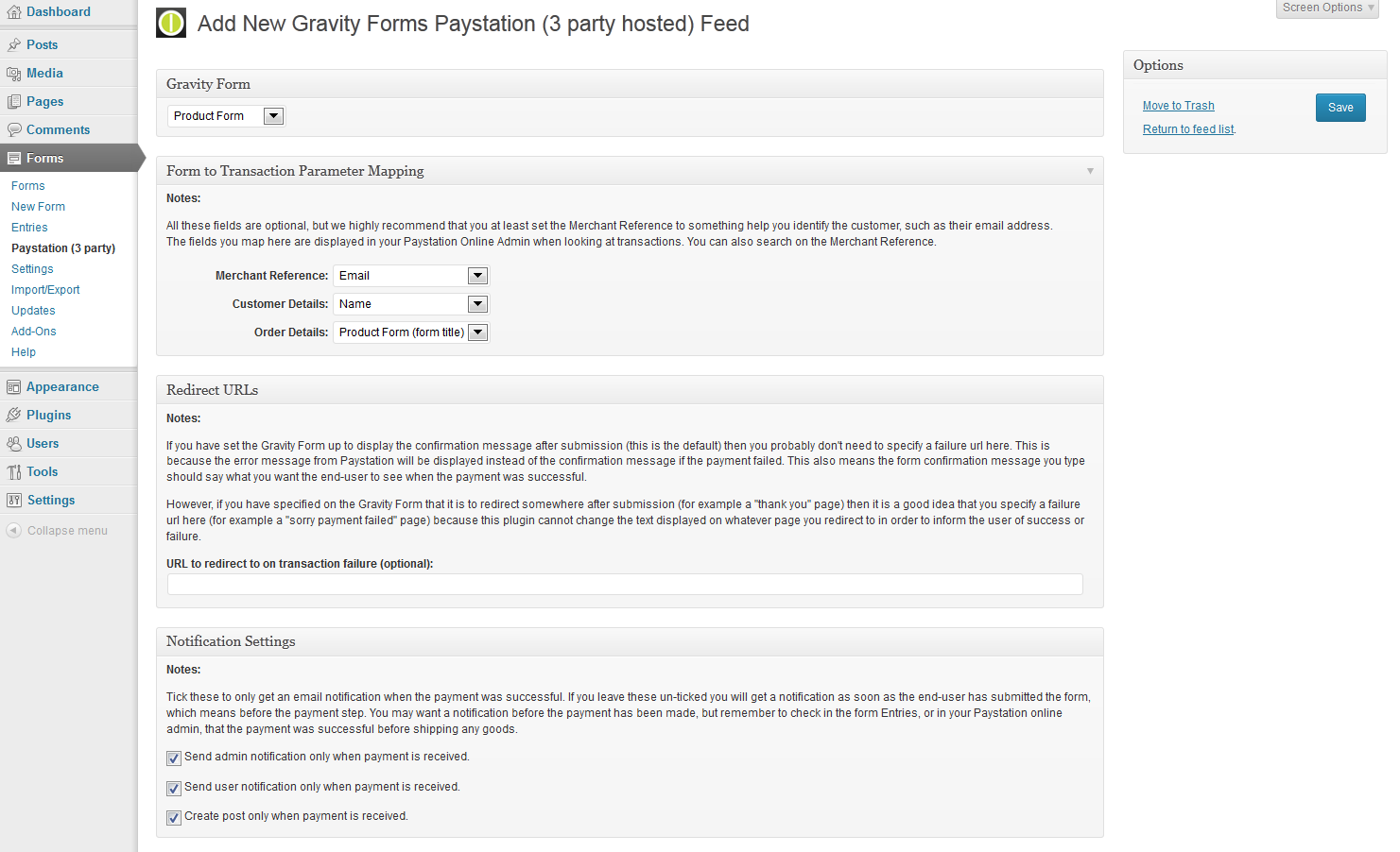 gravity-forms-paystation-3-party-hosted screenshot 4