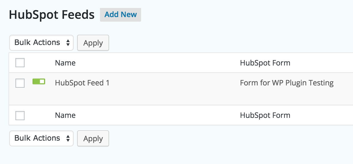 gravityforms-hubspot screenshot 2