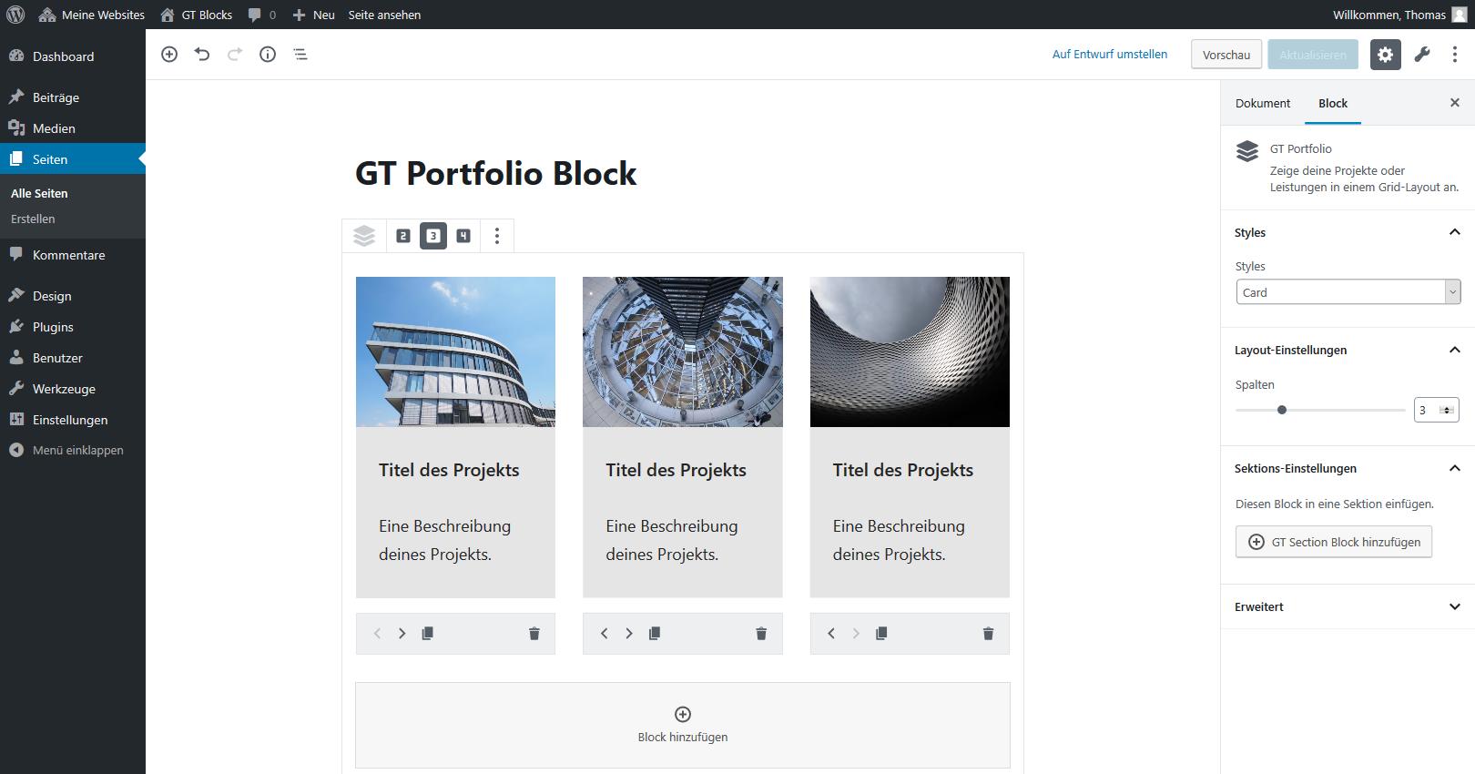 Portfolio Block