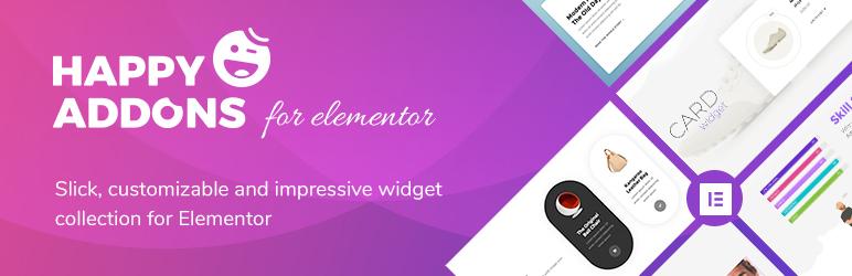 Happy Elementor Addons – WordPress plugin | WordPress org