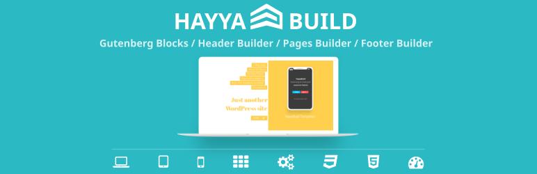 HayyaBuild – The Most Advanced Gutenberg Blocks