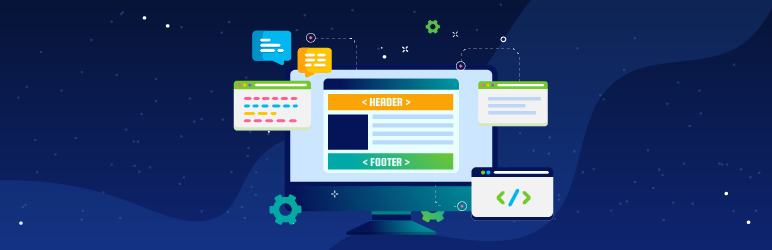 Header Footer Code Manager