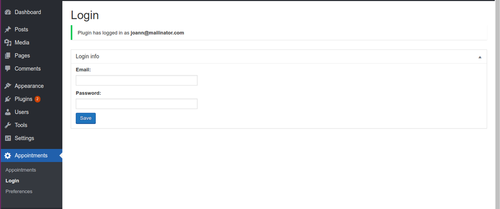 <code>/screenshot-6.png</code> : (Admin login area) Defines the login screen where users need to input their login details for HealthLynked accounts