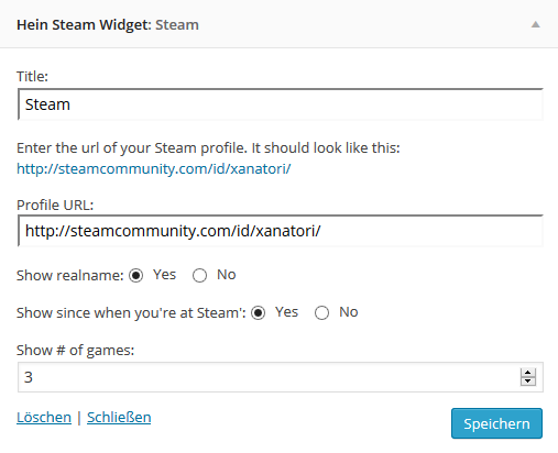 In the image, screenshot-2.png, you can see the settings of the Hein-Steam-Widget.