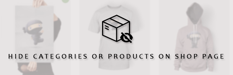 Hide Categories Or Products On Shop Page