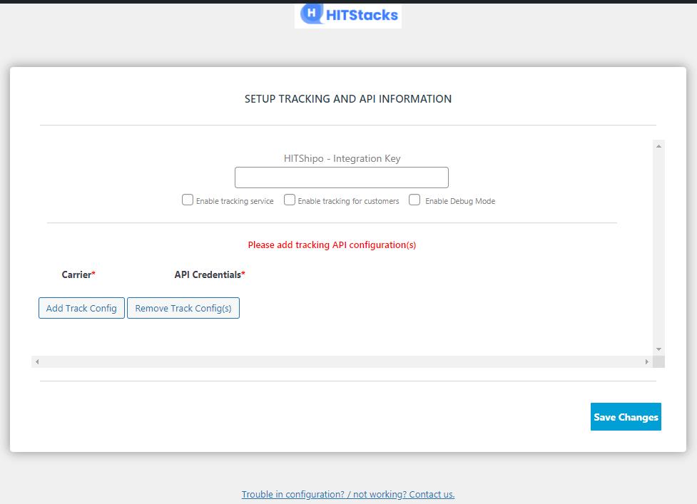 HIT Tracki – Multi-carrier Shipment Tracking