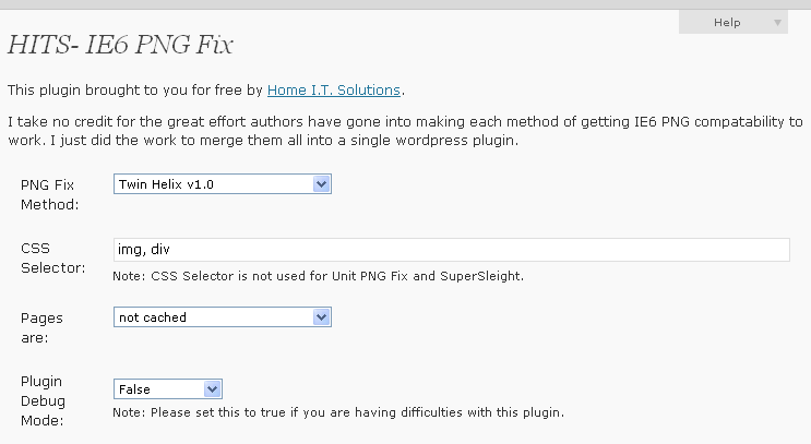 hits-ie6-pngfix screenshot 1