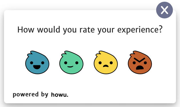 Howuku feedback emoji demo
