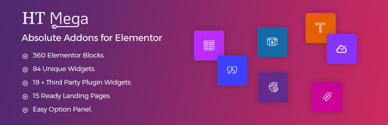 HT Mega – Absolute Addons for Elementor Page Builder