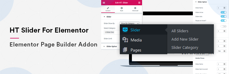 HT Slider For Elementor