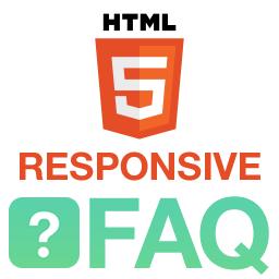 HTML5 Responsive FAQ logo
