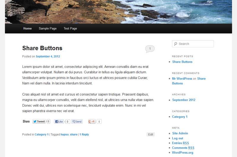 c13692c5d Hupso Share Buttons for Twitter, Facebook & Google+ – WordPress ...