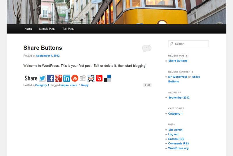 Share Toolbar (big)