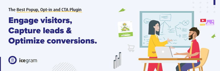 Popups, Welcome Bar, Optins and Lead Generation Plugin – Icegram