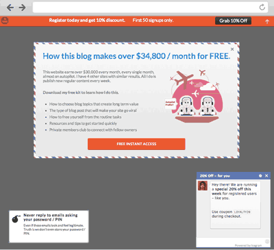 Popups, Welcome Bar, Optins and Lead Generation Plugin – Icegram ...