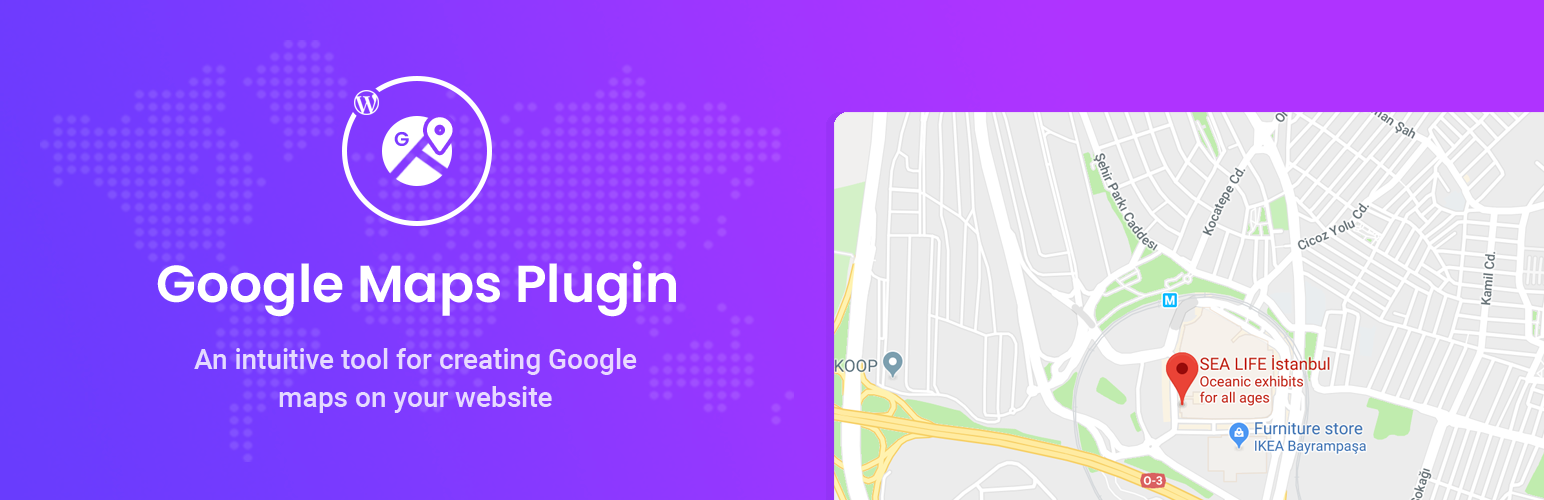 Google Map for Gutenberg Block