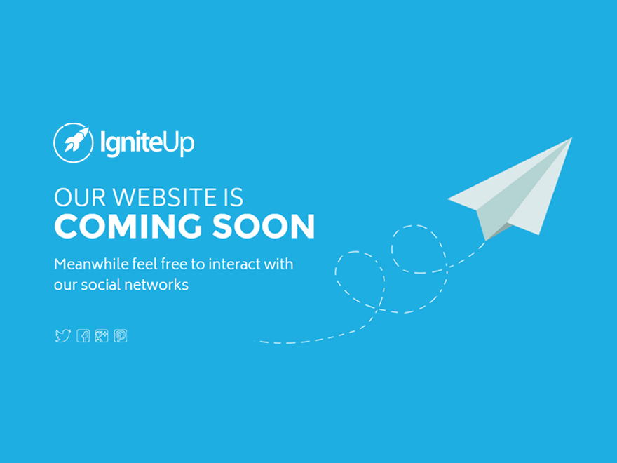 Igniteup coming soon and maintenance mode for Maintenance mode html template