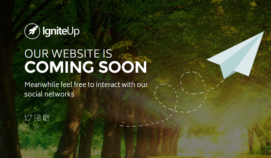 IgniteUp - Coming Soon and Maintenance Mode - WordPress.orgIgniteUp - Coming Soon and Maintenance Mode - 웹