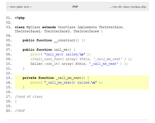 igsyntax-hiliter screenshot 2
