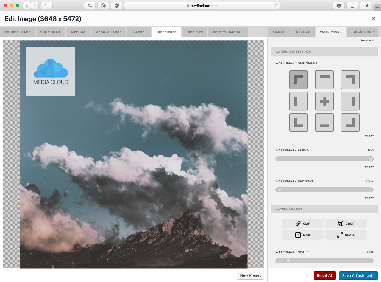 Media Cloud – WordPress plugin   WordPress org