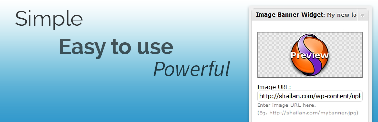Image/Banner Widget – WordPress plugin | WordPress org