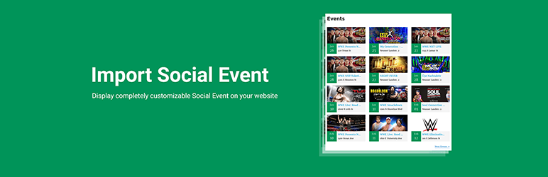 Import Social Events