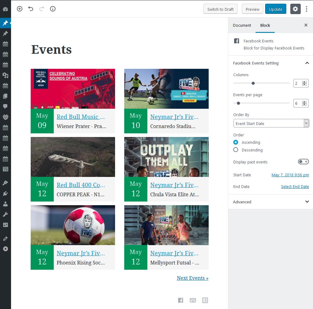 Import Social Events – WordPress plugin | WordPress org