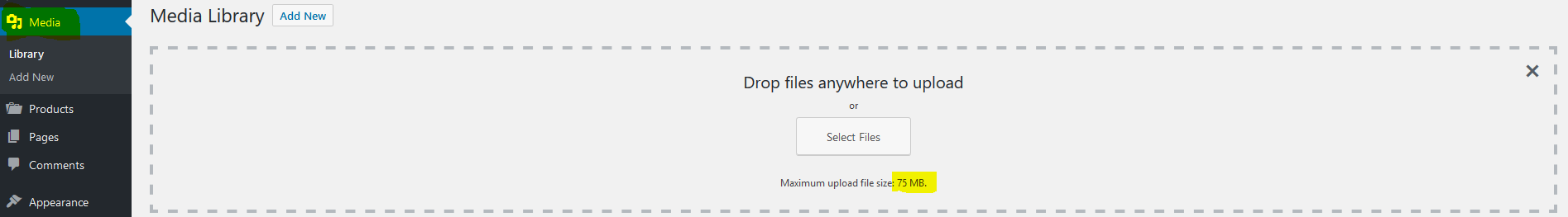 increase maximum upload file size  u2013 wordpress plugin