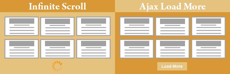 Infinite Scroll and Ajax Load More
