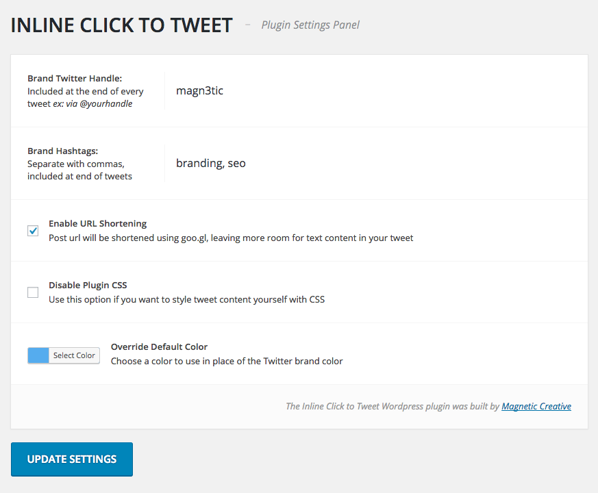 Inline Click To Tweet