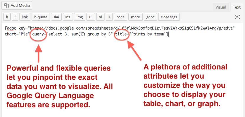inline google spreadsheet viewer wordpressorg