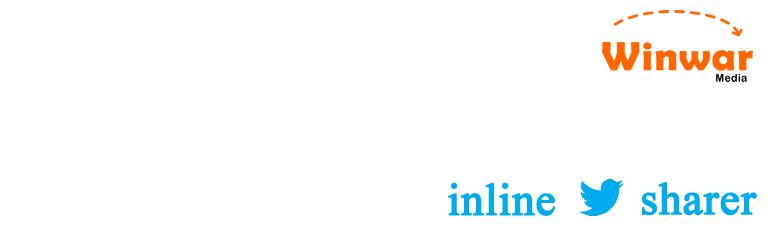Inline Tweet Sharer – Twitter Sharing Plugin
