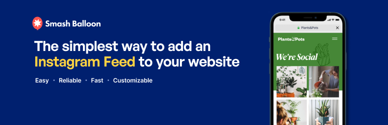 smash balloon social photo feed plugin wordpress wordpress org