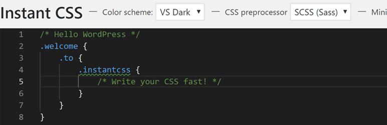 Instant CSS
