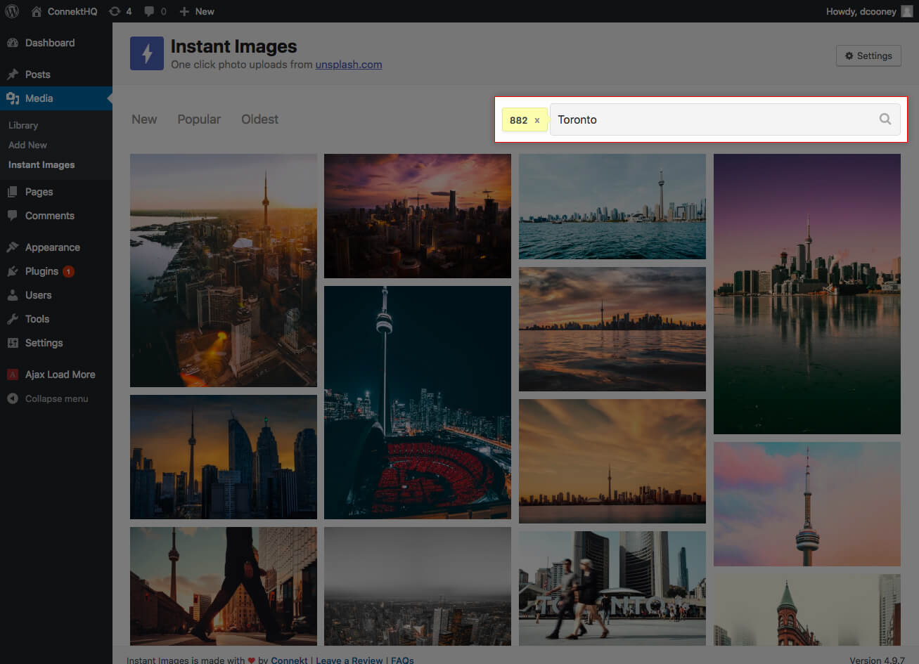 Instant Images Search