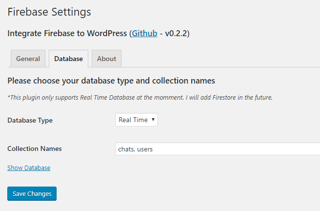 Integrate Firebase – WordPress plugin | WordPress org