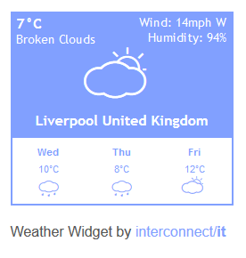 interconnect-it-weather-widget screenshot 2