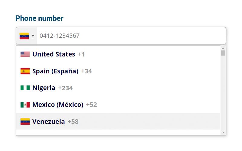 International Telephone Input for Contact Form 7 — WordPress Plugins