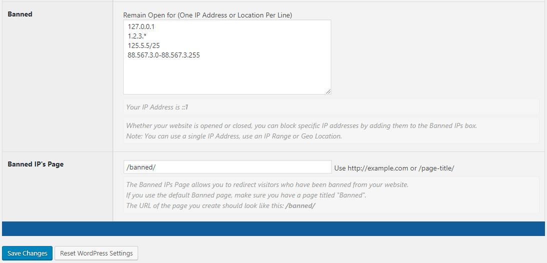 IP Address Approval