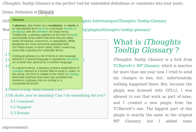 ithoughts tooltip glossary wordpress org