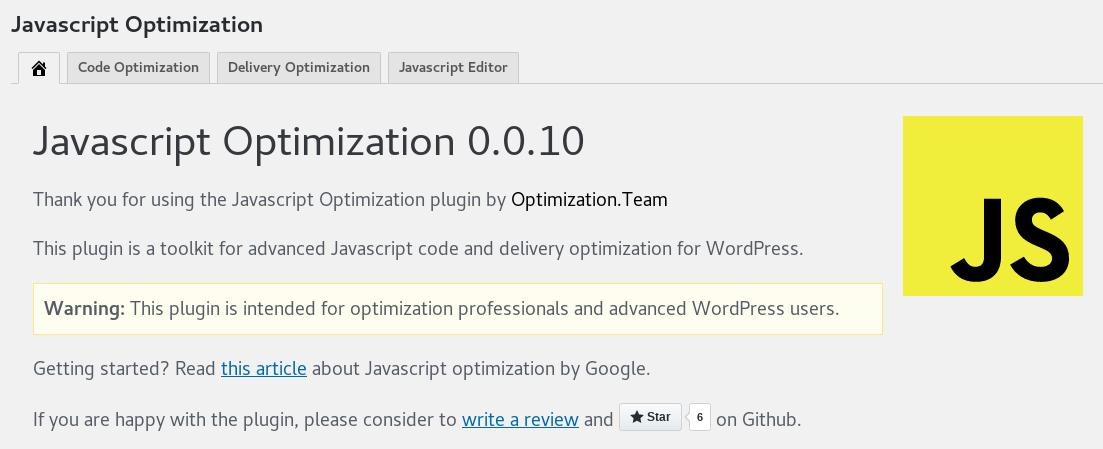 Javascript Optimization