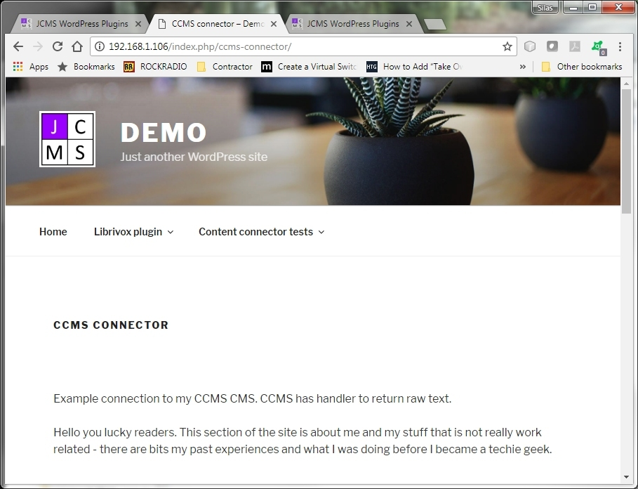 View of remote content embedded in WordPress template context.