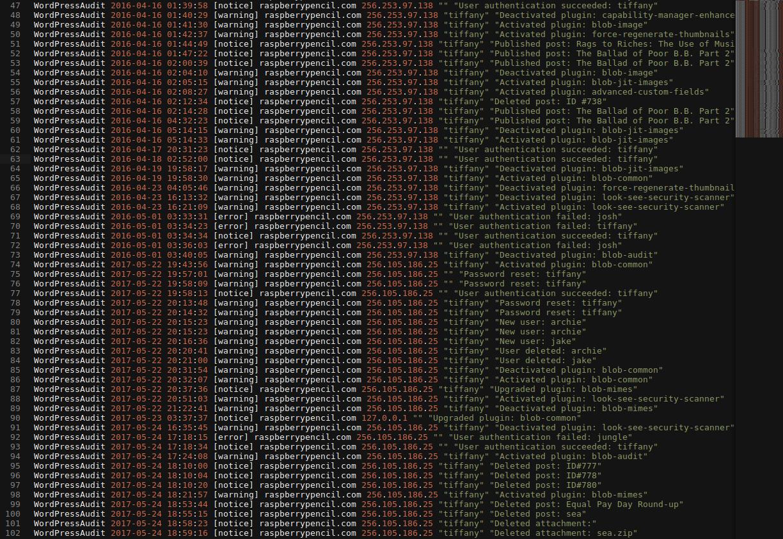 Example log file.