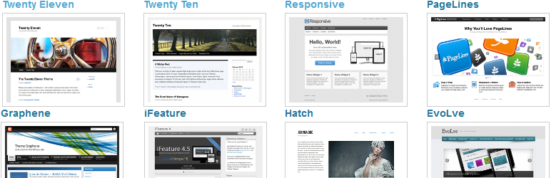Multiple Themes | WordPress.org