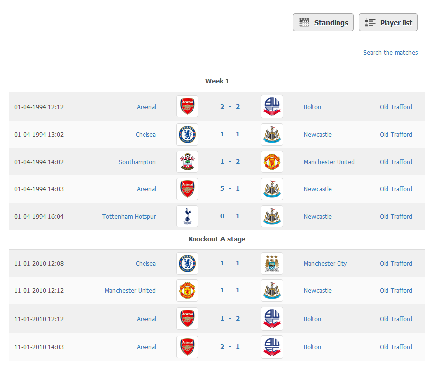 soccer league schedule maker