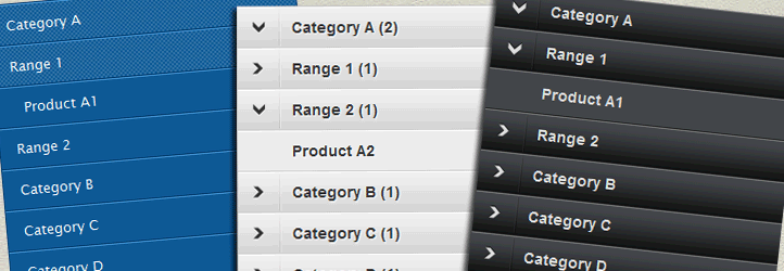 JQuery Accordion Menu Widget