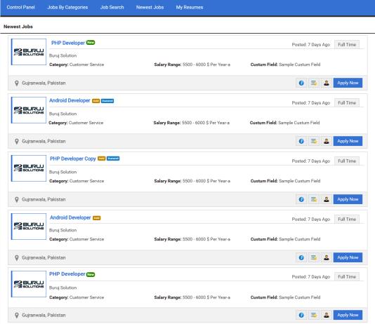 JS Job Manager WordPress Plugins