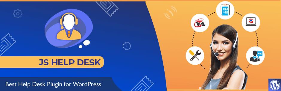 JS Help Desk (formerly JS Support Ticket) – WordPress plugin