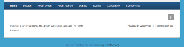 kerstner-foundation-footer screenshot 1