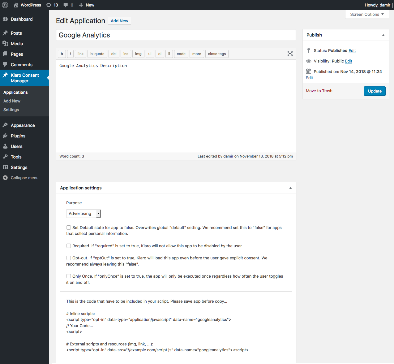 screenshot-5.png shows application in edit mode.
